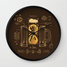 Le Beer (Elixir of Life) Wall Clock
