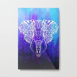 Heavenly Elephant Metal Print