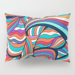 African Style No24, Sahara echoes Pillow Sham