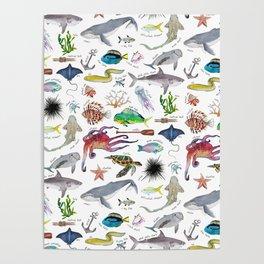 Under the Sea Alphabet Poster