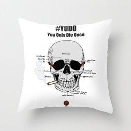 #YODO Throw Pillow