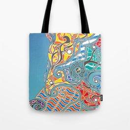 Bright Bear Tote Bag