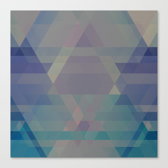 The Clearest Line VII Canvas Print