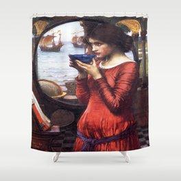 John William Waterhouse's Destiny Shower Curtain
