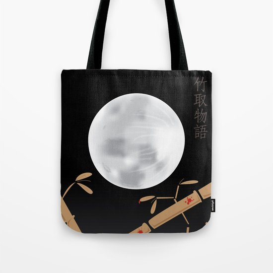 Tale of the Bamboo Cutter Tote Bag