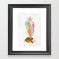 Fox Dreams Framed Art Print
