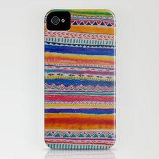 TRIBAL CRAYON / iPhone (4, 4s) Slim Case