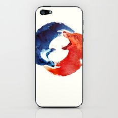 Ying yang iPhone & iPod Skin