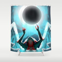 Euphoric - Moon Shower Curtain