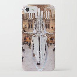 Hope the Blue Whale at the Natural History Museum, London iPhone Case