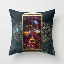 Zodiac : Libra Throw Pillow