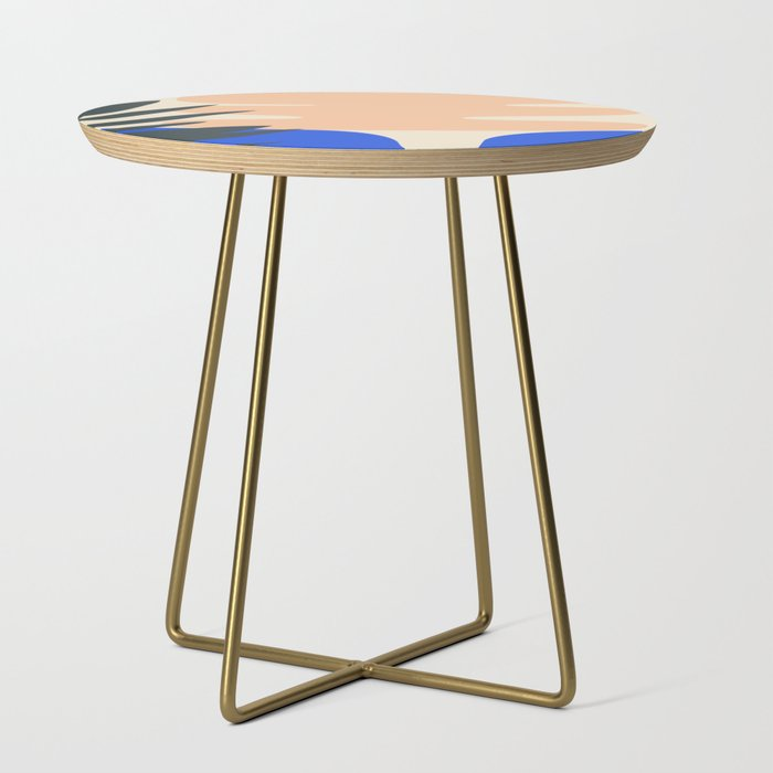 Shape_study_14__Stackable_Collection_Side_Table_by_mpgmb__Gold__Round