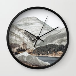 Nature Collage15 Wall Clock