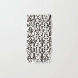 Block Print Diamond Hand & Bath Towel