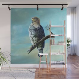 Southern Banded Snake Eagle Wall Mural
