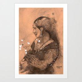 carte9 Art Print