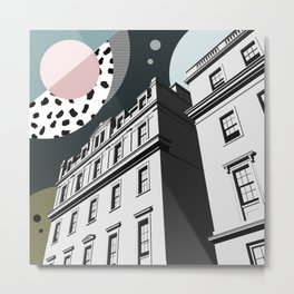 Notting Hill Gate, London UK Metal Print
