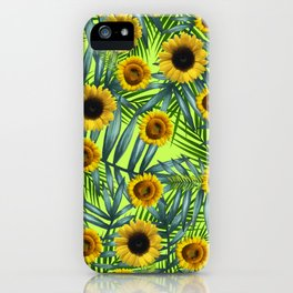 Sunflower Party #3 iPhone Case