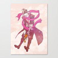 gundam Canvas Prints featuring soft gundam by Cori Walters