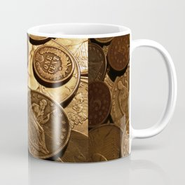 Cool Old Coins Coffee Mug