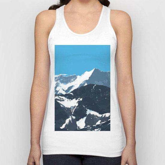 swiss mountains Unisex Tank Top
