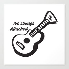 Guitar-No strings attached NSYNC Canvas Print