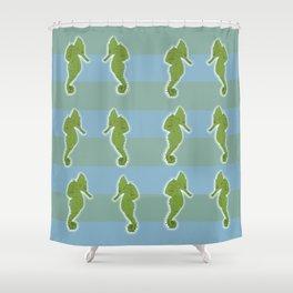 Sea horse Shower Curtain