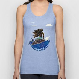 Lady of the Atlantic Crossing Unisex Tank Top