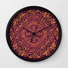 Sari Wall Clock
