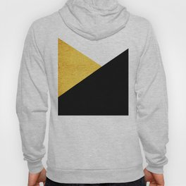 Gold & Black Geometry Hoody