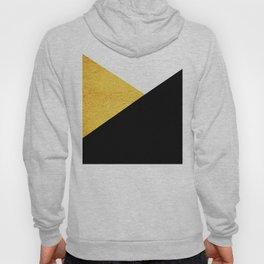 Gold & Black Geometry Hoody