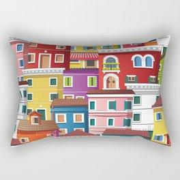 Burano, Italy Rectangular Pillow