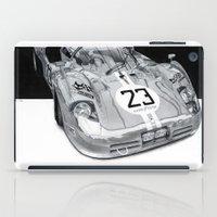 ferrari iPad Cases featuring Ferrari 512s by sesven