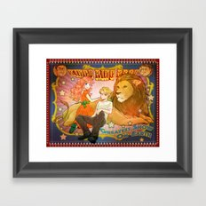 King's Ring Bros Poster Framed Art Print