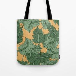 Foliage Yellow Tote Bag