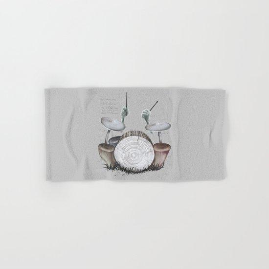 Mushroom drums Hand & Bath Towel
