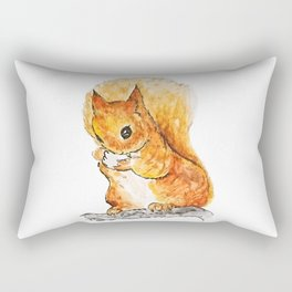 Squirrel Nutkin Peter Rabbit  Beatrix Potter Rectangular Pillow