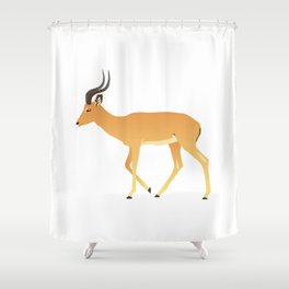 Peaceful Antelope Shower Curtain