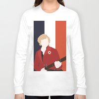 enjolras Long Sleeve T-shirts featuring ENJOLRAS – LES MISÉRABLES by K. Frank