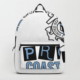 US Army Coast Guard Graphic Gift For Proud Military Lovers Backpack