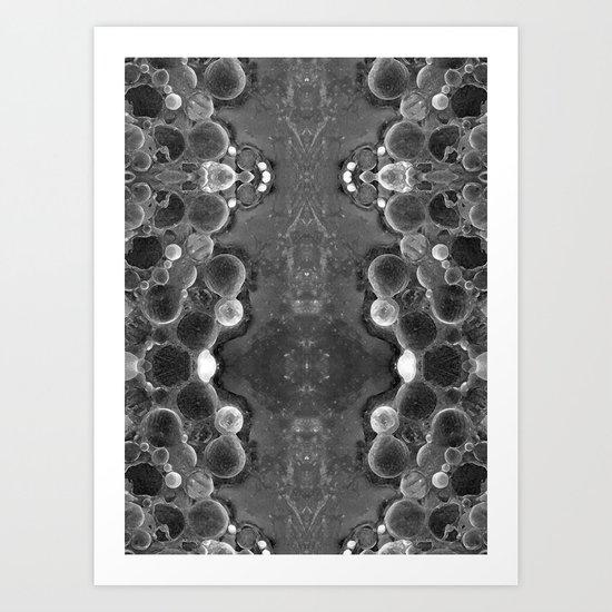 mirrOred planets Art Print