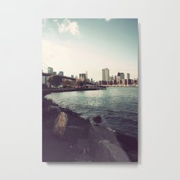 The Calm of the City Metal Print