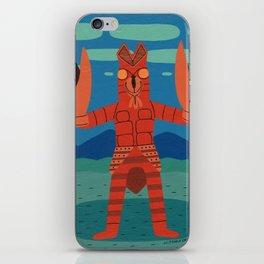 Alien Baltan iPhone Skin