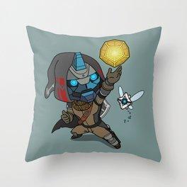 Legend of Destiny Throw Pillow