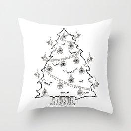 Tree Alive Throw Pillow