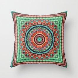 Pastel Fusion Throw Pillow