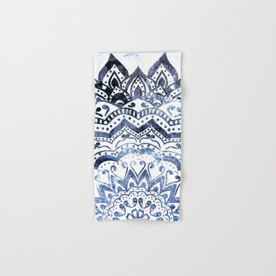 BLUE ORION JEWEL MANDALA Hand & Bath Towel
