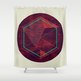 Thinking of a Foreign Girl Shower Curtain