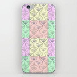 Art Deco Clams #3 iPhone Skin