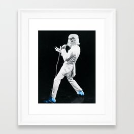 Blue Suede Trooper _ elvis and star wars Framed Art Print